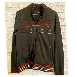 Ben Sherman Men's Retro Zip Track Jacket L